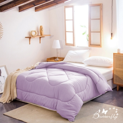 BUTTERFLY-石墨烯續熱速暖機能被-雙人被胎-薰衣草紫