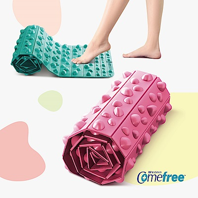 Comefree可捲式居家健康步道踏墊(兩色任選)