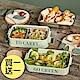 [買一送一 再送餐具組] 法國FORUOR TOGO森沐 #304不銹鋼分隔雙層餐盒1700ml(快) product thumbnail 1