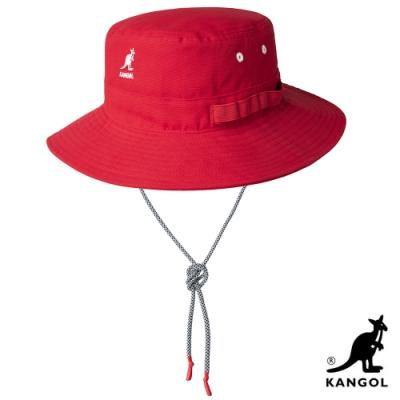 KANGOL-UTILITY CORDS JUNGLE 漁夫帽 - 紅色