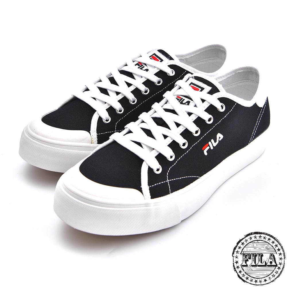 FILA 男款 刺繡小LOGO 帆布鞋 1 C910S 001 @ Y!購物