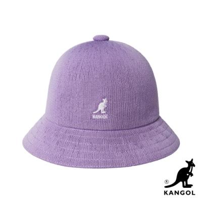 KANGOL-TROPIC 鐘型帽-丁香紫色