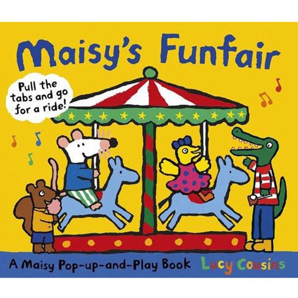 Maisy's Funfair 波波到遊樂場玩耍立體操作書