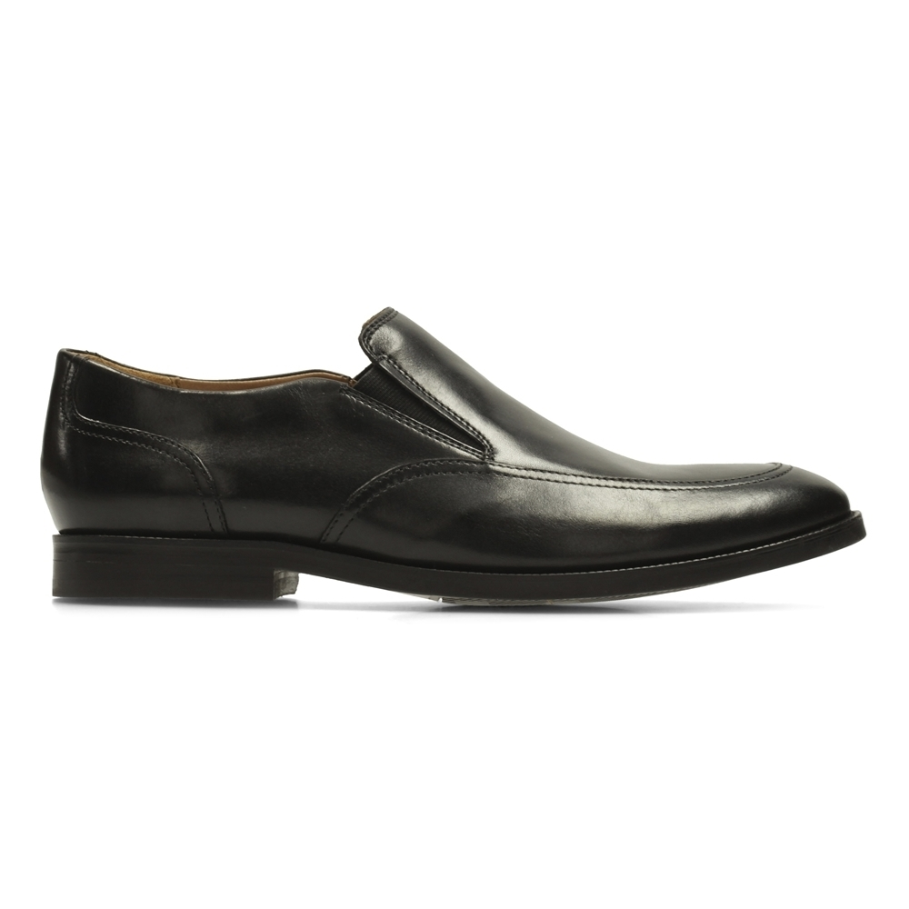 Clarks Broyd Step 男 正裝皮鞋 黑