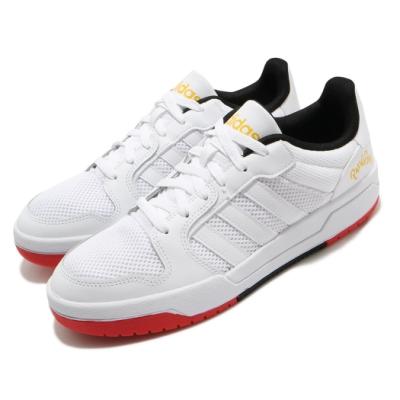 adidas 休閒鞋 Entrap 復古 低筒 男鞋 愛迪達 基本款 板鞋 皮革 穿搭 白 紅 黑 FX4025