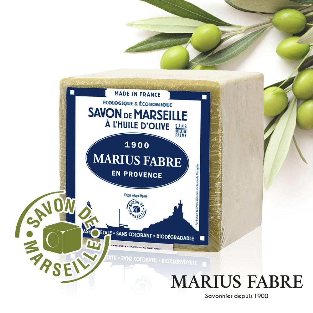 法國法鉑-橄欖油經典馬賽皂-400g/顆