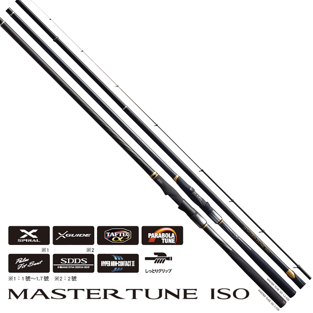【SHIMANO】MASTER TUNE ISO 1.7號 500 磯竿