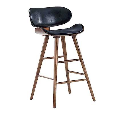Bernice-卡西法造型吧台椅/高腳椅(二色可選)-47x46x89cm