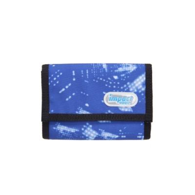 【IMPACT】運動皮夾系列-運動短夾-星空-藍 IM00T01SB