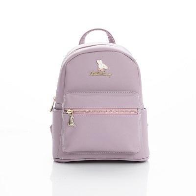 B.S.D.S冰山袋鼠-法式雪酪x迷你造型後背包-芋頭紫