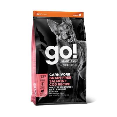 Go! 海洋鲑鱈 73% 高肉量 全犬無穀配方12磅