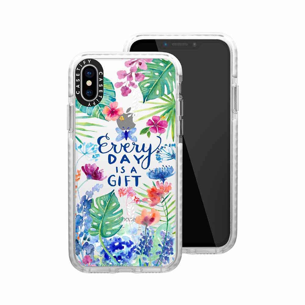 Casetify iPhone X/XS 耐衝擊保護殼-樂活