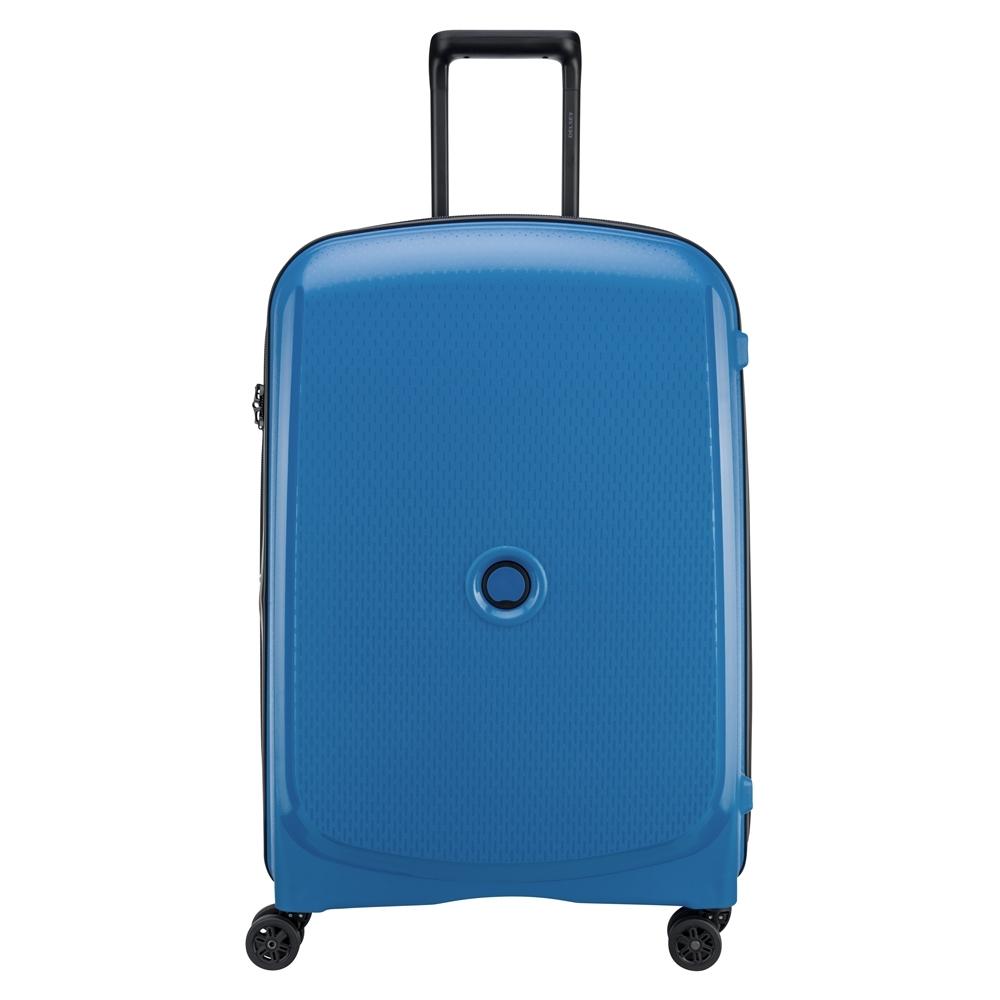 【DELSEY】BELMONT PLUS-25吋旅行箱-藍色 00386182032