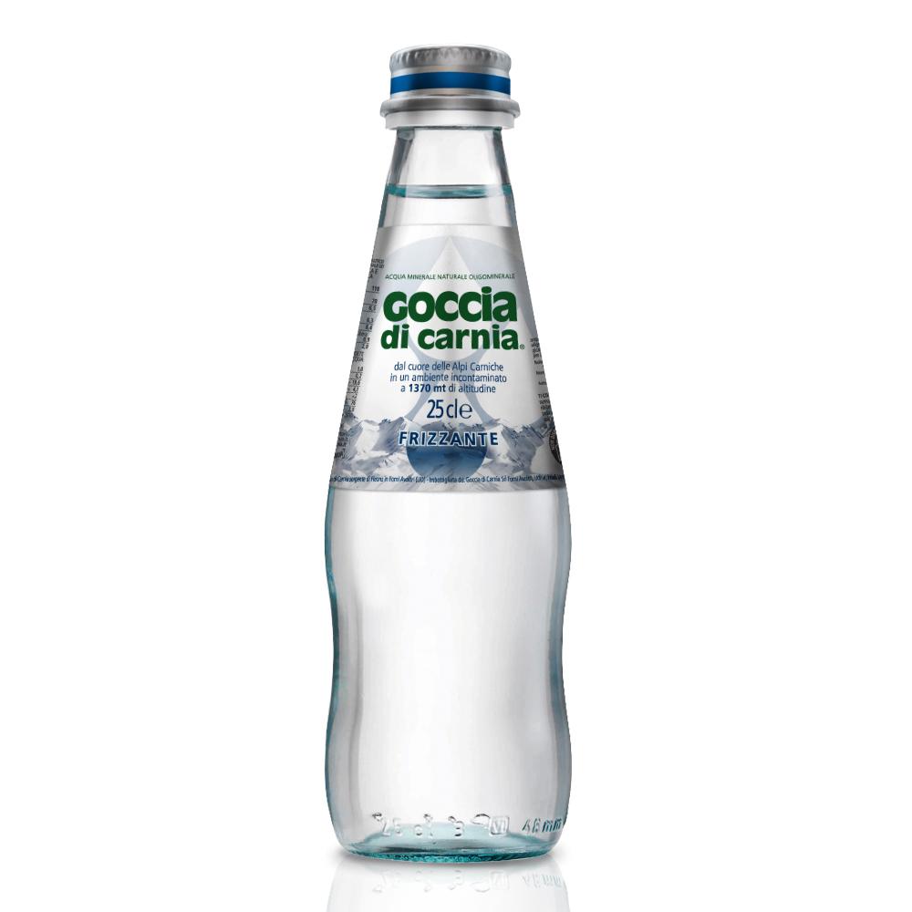 義大利Goccia di Carnia 高地卡尼天然氣泡礦泉水(250mlx24入)