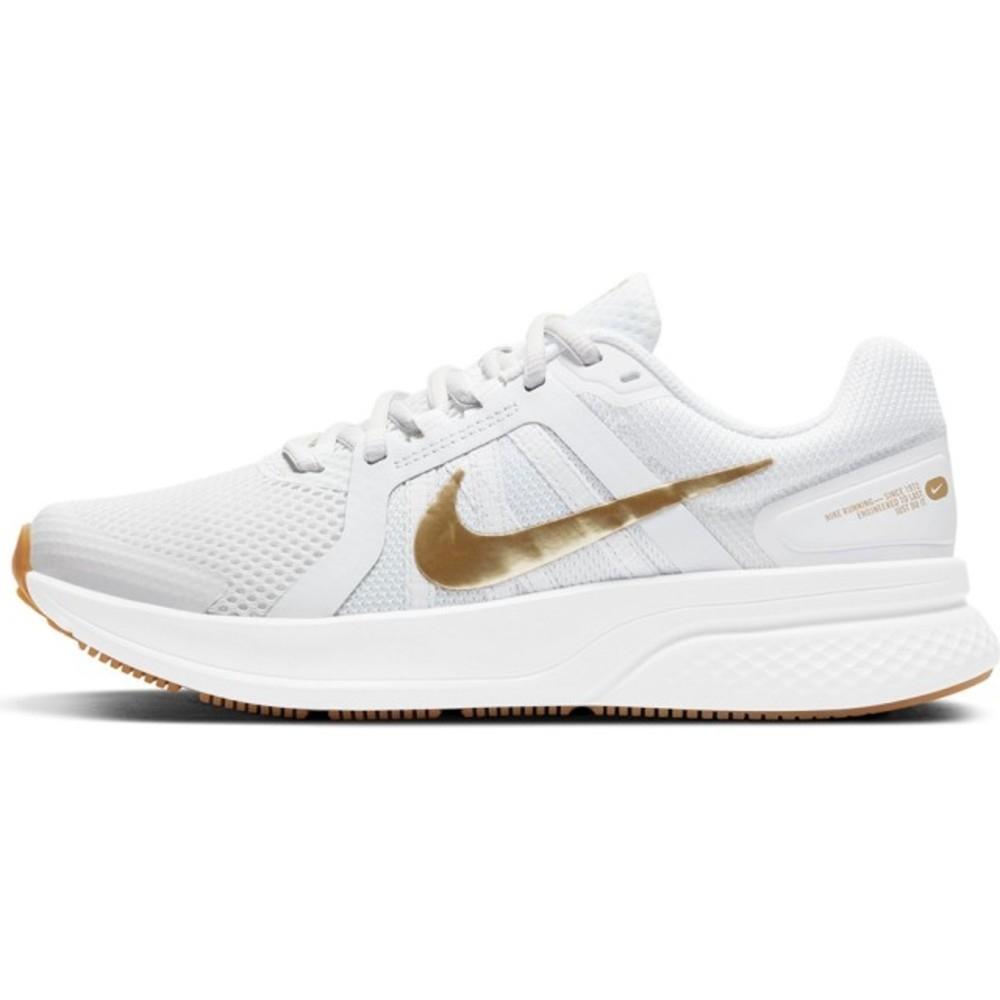 NIKE RUN SWIFT 2 女慢跑鞋 -白金-CU3528010