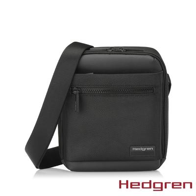 Hedgren NEXT RFID單層商務 側背包 墨黑