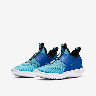 NIKE  襪套 中童 童鞋 休閒鞋 運動鞋 藍 CV9327400 FLEX RUNNER BREATHE PS
