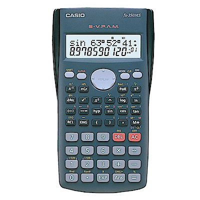 (VIP) CASIO卡西歐 12位數工程型計算機FX-350MS