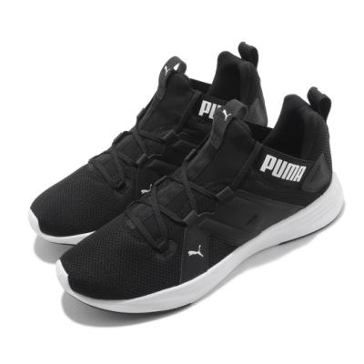 Puma 慢跑鞋 Contempt Demi 男鞋 輕量 透氣 舒適 避震 路跑 健身 黑 白 19316003