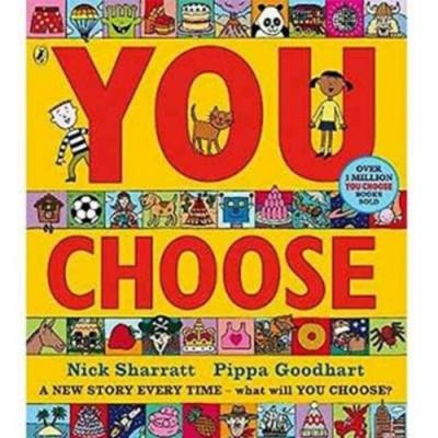 You Choose 隨你挑選遊戲書
