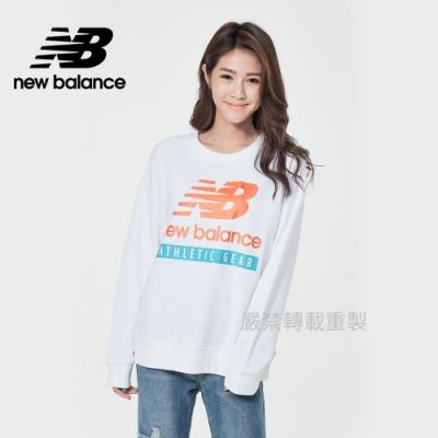 [New Balance]圓領針織長袖_女款_白色_AWT11506WT