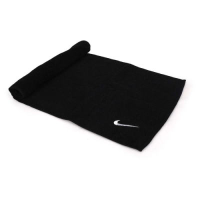 NIKE SOLID CORE長型毛巾 黑白