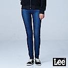 Lee 400 九分中腰貼身窄管牛仔褲/BO-中藍色