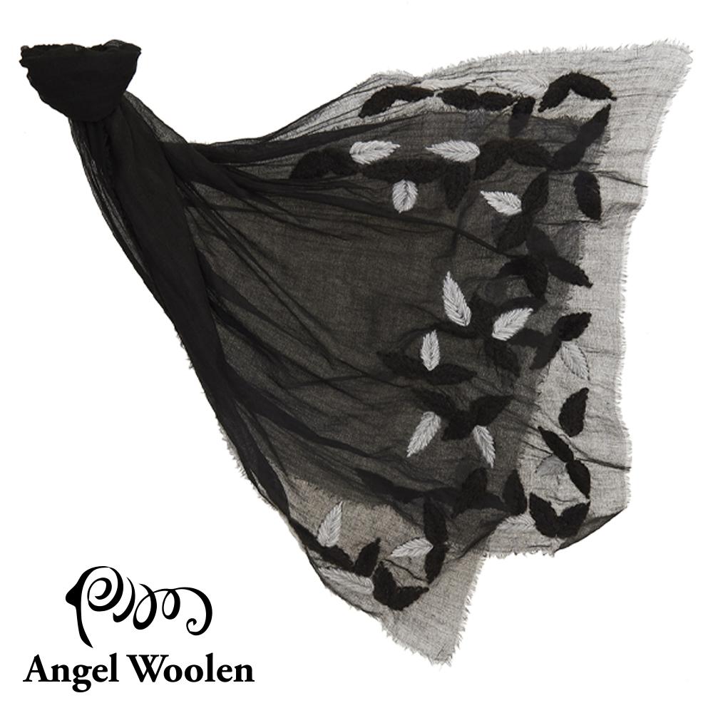 Angel Woolen羽翼-印度手工刺繡羊毛披肩