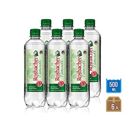 699免運-ROSBACHER天然礦泉水(500mlx6瓶)