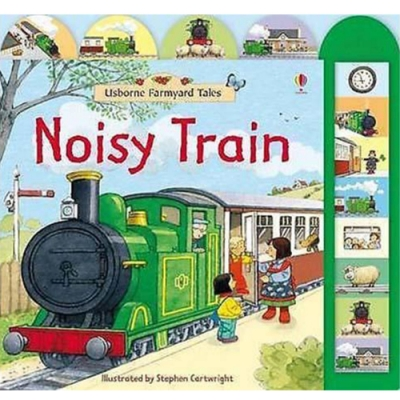 Noisy Train 家鄉的車站精裝硬頁有聲書