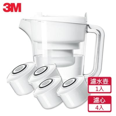 3M 即淨長效濾水壺 經典款WP3000(1壺+4濾心)