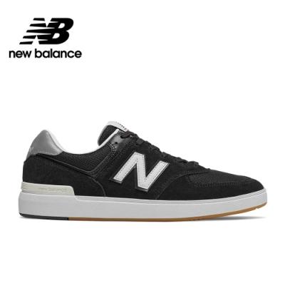 【New Balance】復古鞋_中性_黑色_AM574BKG-D楦