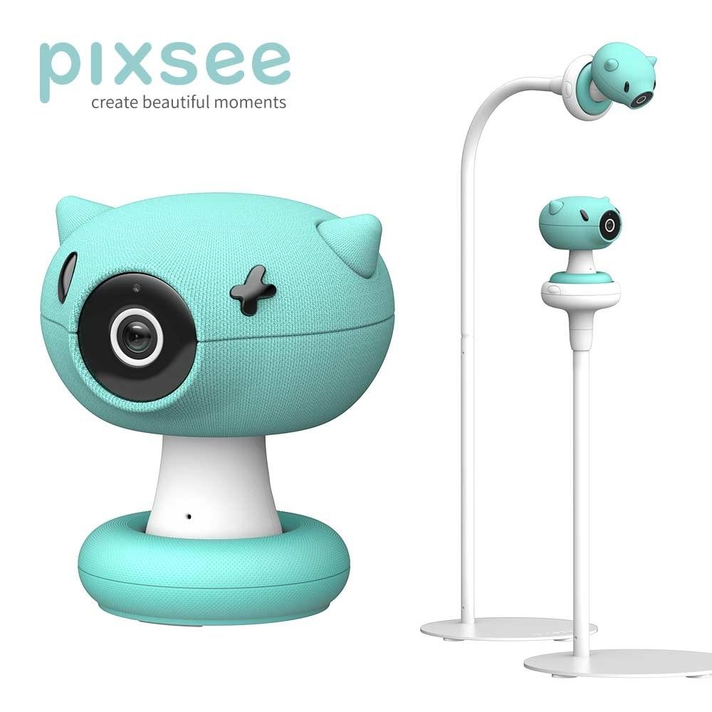 【贈限量好禮】Pixsee-智慧寶寶攝影機