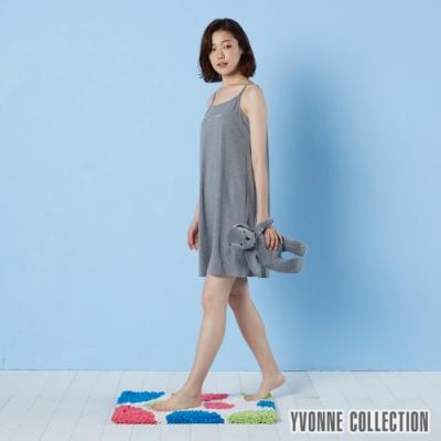 Yvonne Collection 法蘭絨彩色圓圈地墊 (50x70cm)- 米白