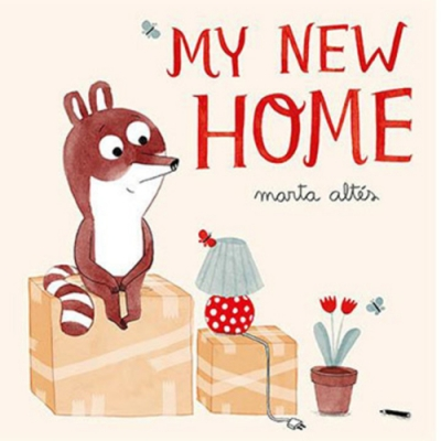 My New Home 小浣熊的新家平裝繪本