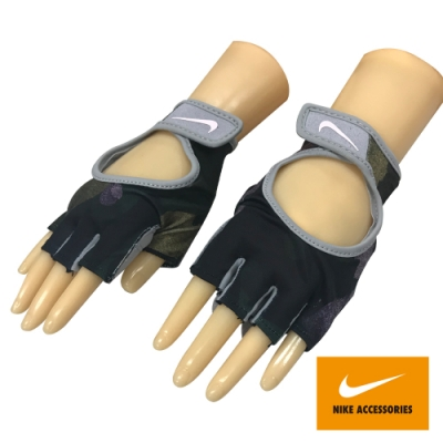 NIKE WOMEN S 女用運動 訓練 基礎手套 黑紫灰 N0002555974