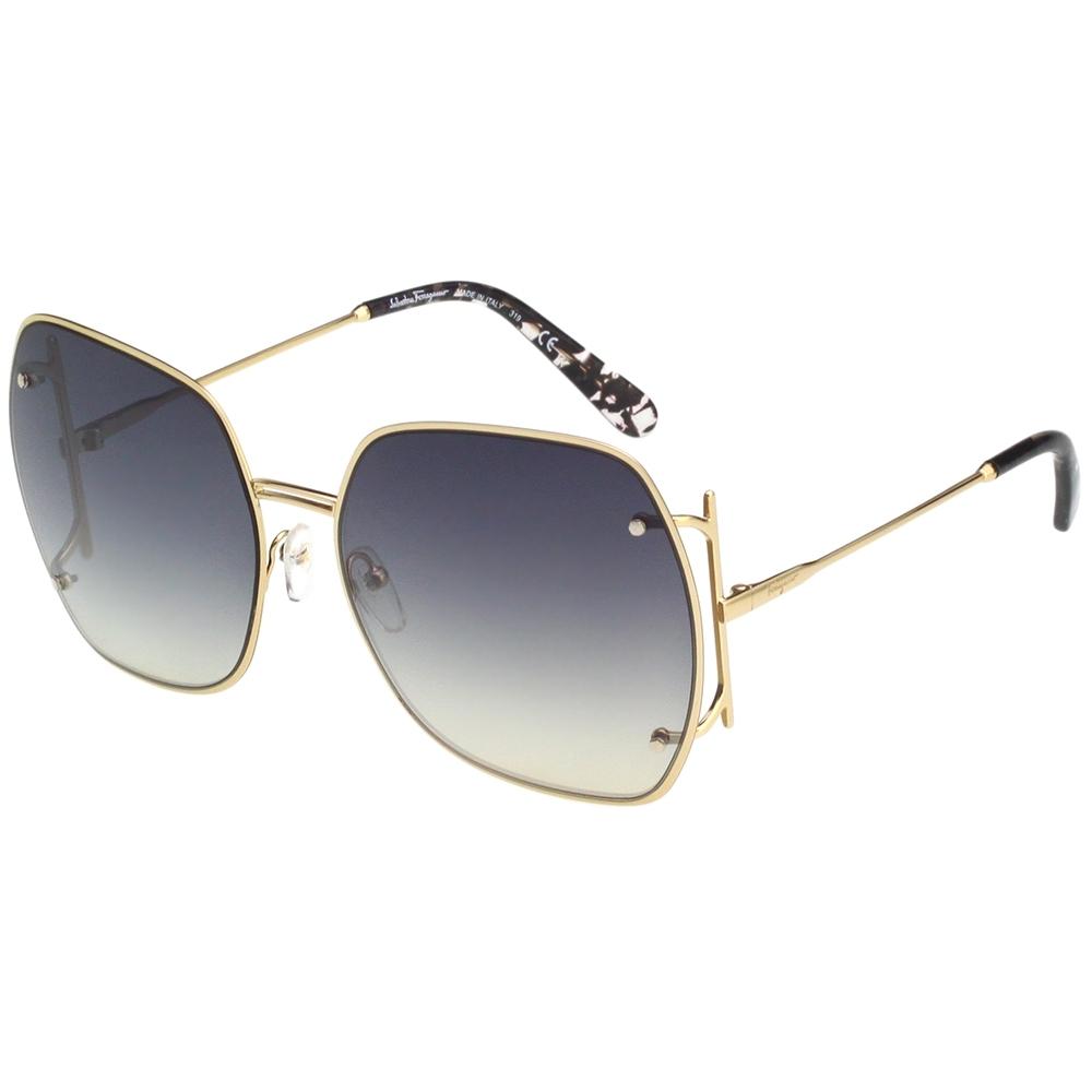Salvatore Ferragamo 太陽眼鏡 (淡金色)