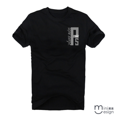 (男款)ps字母潮流短T 三色-Minidesign