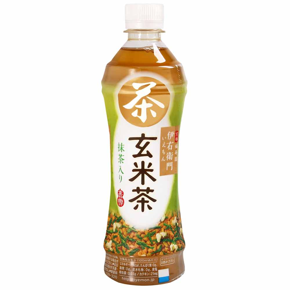 SUNTORY 伊右衛門玄米茶飲料(500ml) product image 1