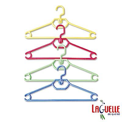 法國LAGUELLE 果漾多功能衣架 42cm (4組12入) ART84