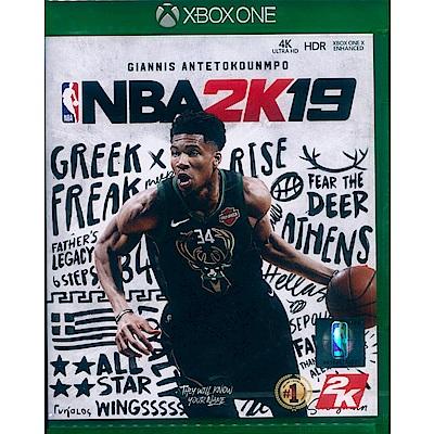 勁爆美國職籃 2K19 NBA 2K19 - XBOX ONE 中英文亞版