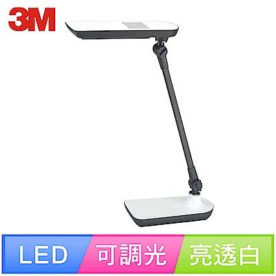3M 58度LED博視燈LD6000可調光式桌燈(亮透白)