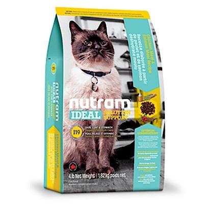 Nutram紐頓 I19 三效強化全齡貓(雞肉+鮭魚)配方 1KG