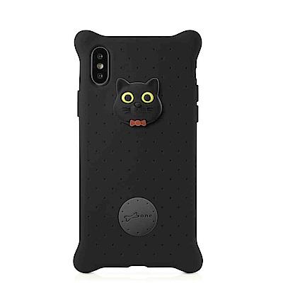 【BONE】IPhone X泡泡保護套-喵喵貓