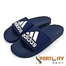 ADIDAS 男 運動拖鞋 藍-B44870