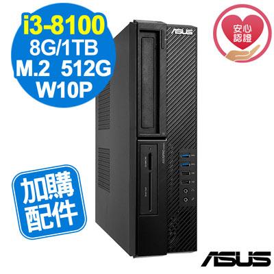 ASUS M640SA i3-8100/8G/660P 512G+1TB/W10P