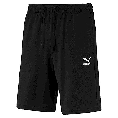 PUMA-男性流行系列經典棉質短褲-黑色-亞規