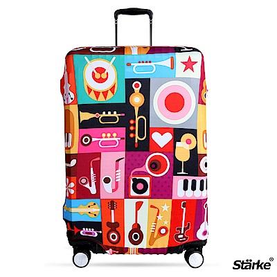 Starke 26-29吋高彈性行李箱套 -普普音樂