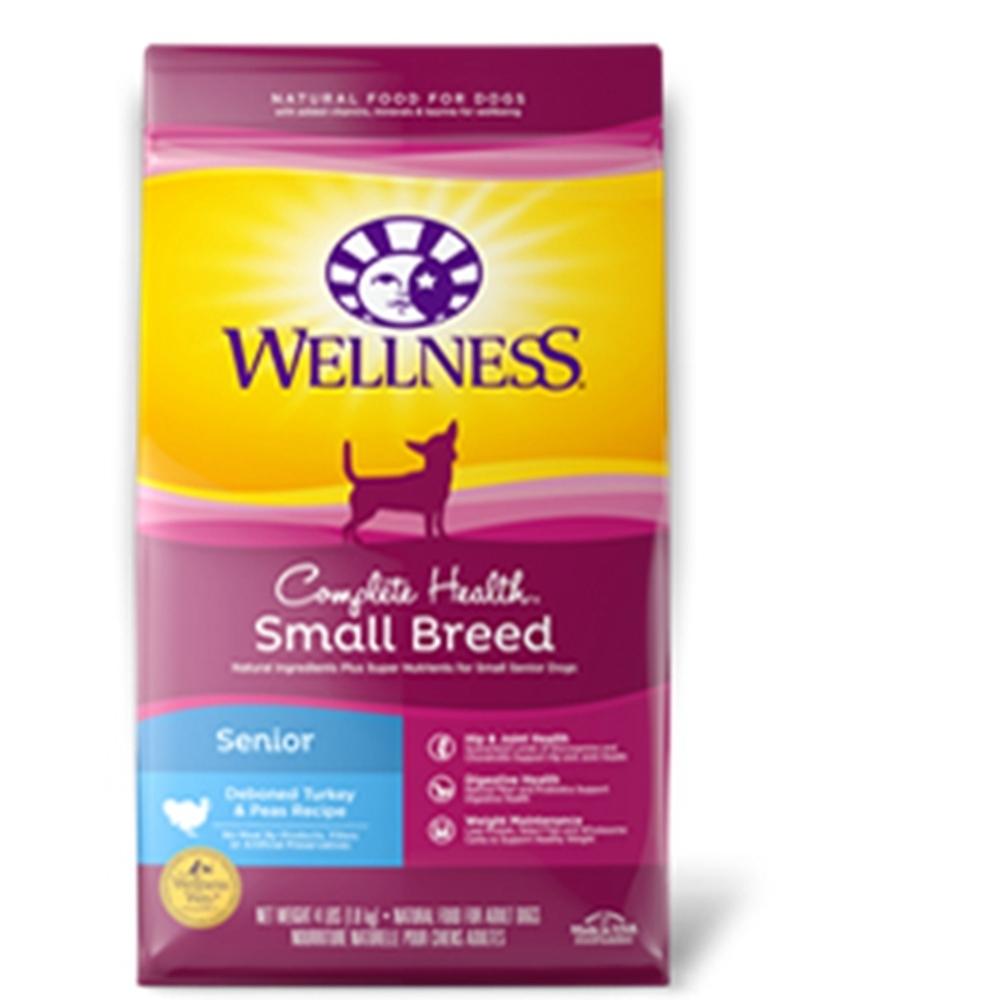 WELLNESS寵物健康-全方位系列-小型熟齡犬-特調照護食譜 4LBS/1.8KG 兩包組
