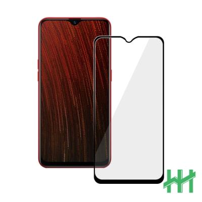 【HH】鋼化玻璃保護貼系列 OPPO AX5s (6.2吋)(全滿版黑)